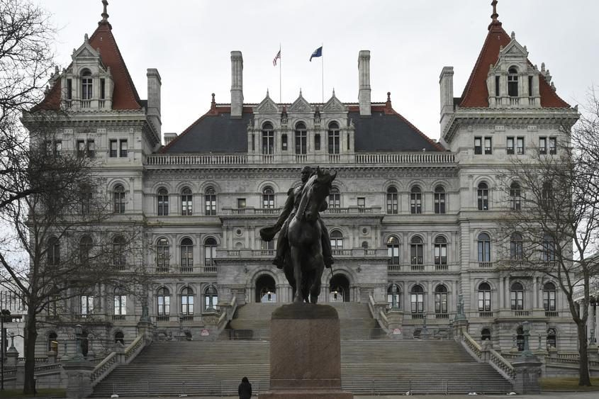 The state capitol building in Albany. File Photo