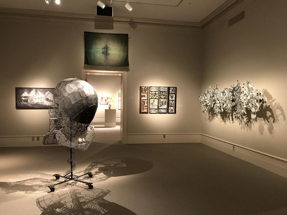 """""""Artists of the Mohawk-Hudson Region"""" at the Albany Institute of History & Art. photo provided"""