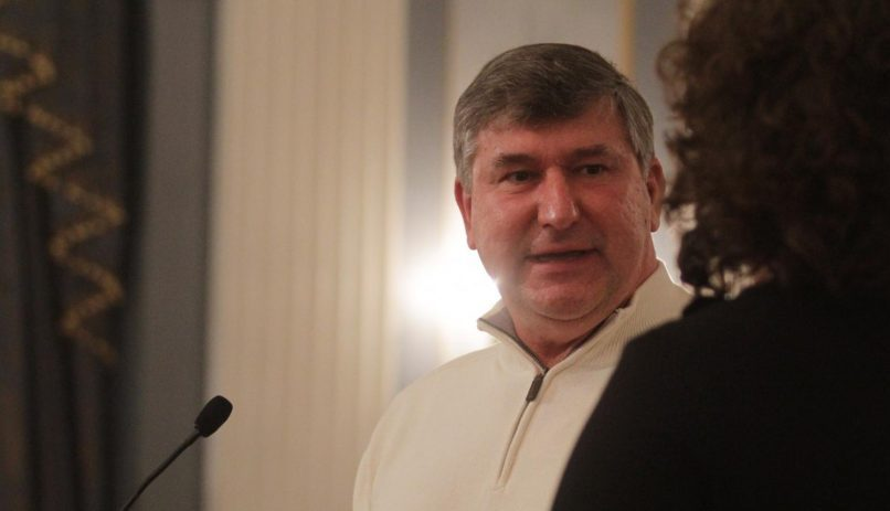 Ed Kosiur at a City Council meeting in Schenectady in February 2014. File Photo