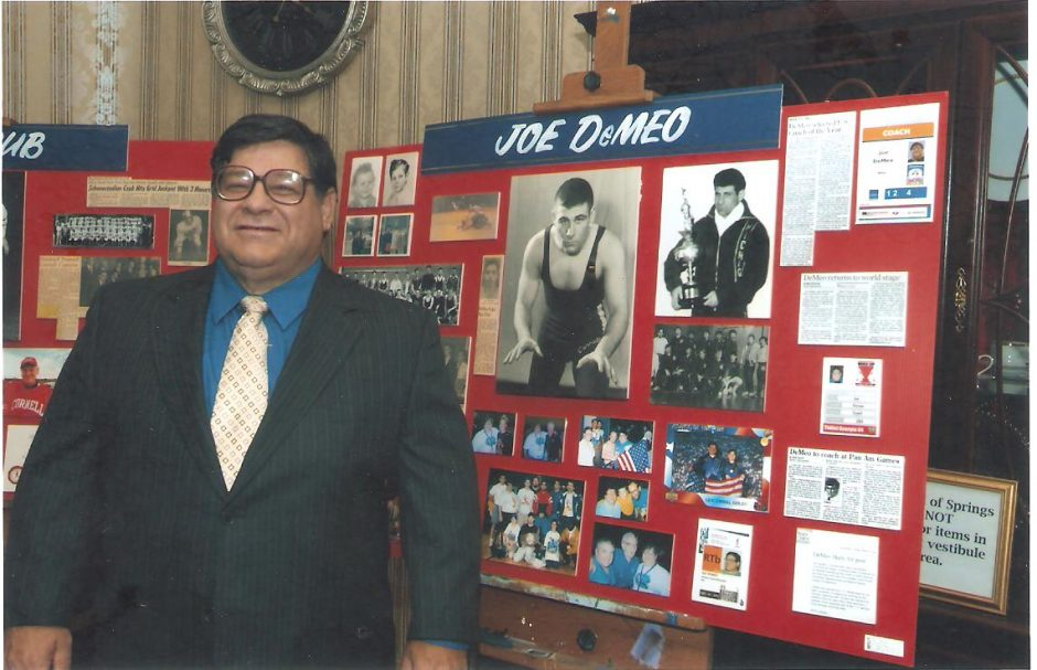 Joe DeMeo's Schenectady City School District Athletic Hall of Fame induction on Sept. 22, 2005, at the Hall of Springs in Saratoga Springs. Credit: Joe Parillo photo
