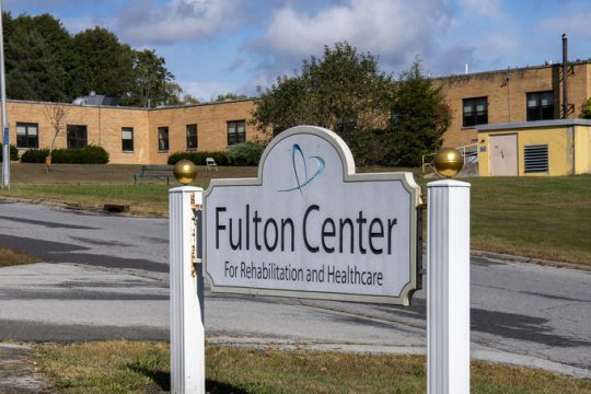 The Fulton County Rehabilitation & Nursing Facility Friday. Credit: Peter Barber/Staff Photographer