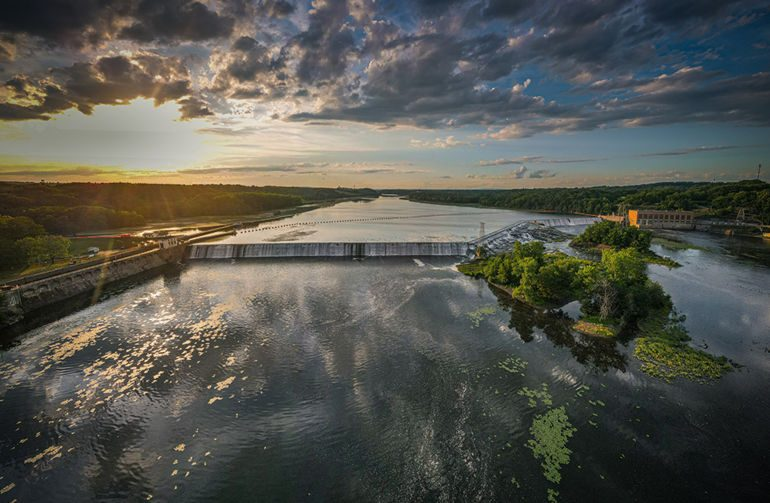 "Sean Sullivan /Courtesy of the Erie Canalway National Heritage CorridorThe photograph ""Sunset Over Lock 7,"" taken in Niskayuna by Sean Sullivan, took second place in the ""On the Water"" category in this year's  Eire Canal Photo Contest."