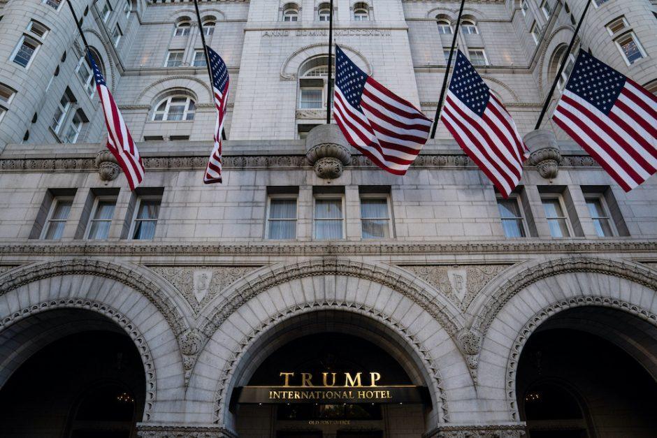 Trump International Hotel in Washington, Sept. 20, 2020.
