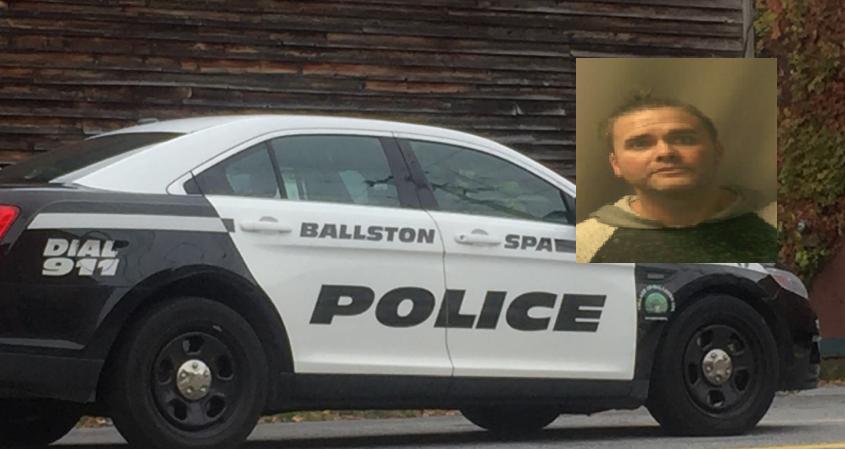 Raymond M. Barnett Jr. Credit: Ballston Spa Police Department (inset); File photo (Background)