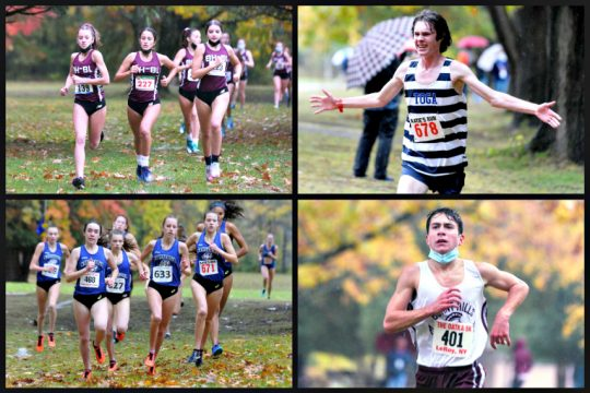 Saratoga Springs swept Burnt Hills in cross country on Friday. (Erica MIller)