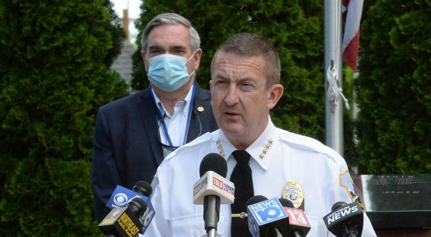 Schenectady Police Chief Eric Clifford in a file photo