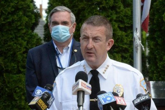 Schenectady Police Chief Eric Clifford in this file photo