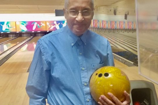 Photo providedJoe Gordon shot a 702 triple in the doubles event at the New York State Senior Championships last weekend in Utica.