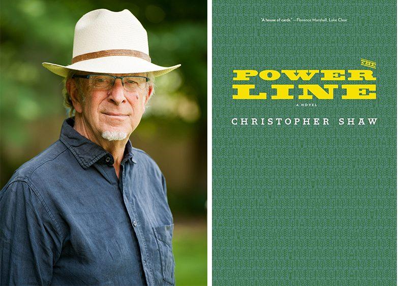 "Christopher Shaw and ""Power Line.""(Jennifer Kiewit)"