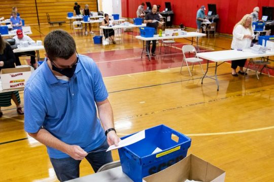 Early voting and absentee voting have proven very popular among New Yorkers.