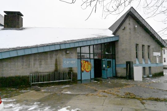 GAZETTEFILEPHOTOTheCarver Community Center, 700 Craig St. in Schenectady, is pictured before renovations began.