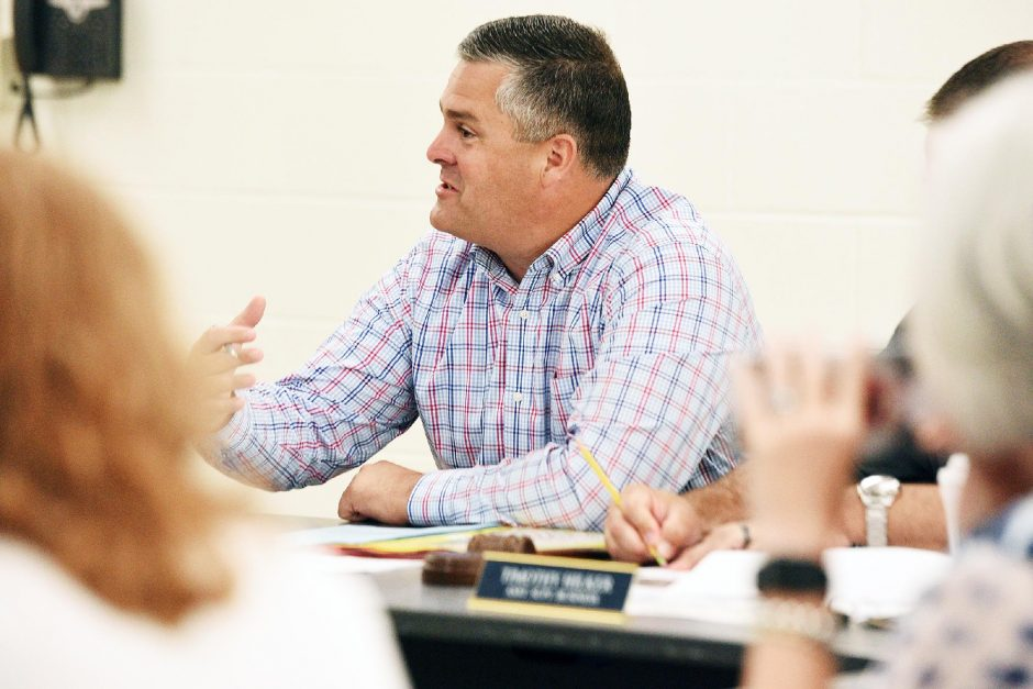 Saratoga Springs Schools Superintendent Michael Pattonis seen in a file photo. (Erica Miller/Staff Photographer)