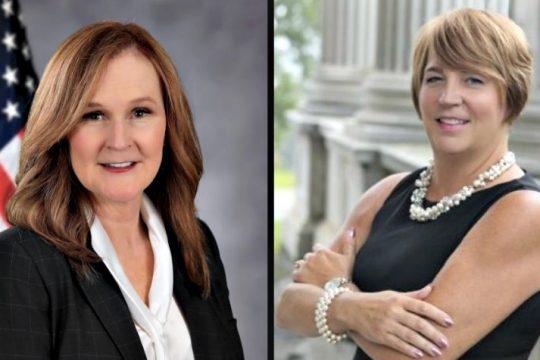 Lorraine Diamond (left) and Kelli McCoski (right).