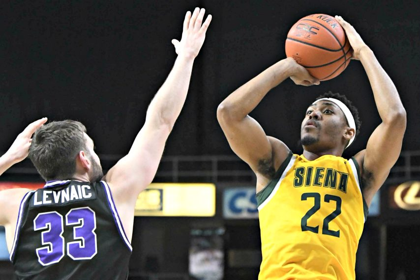 Siena's Jalen Pickett was named the MAAC's preseason player of the year. (Gazette file photo)