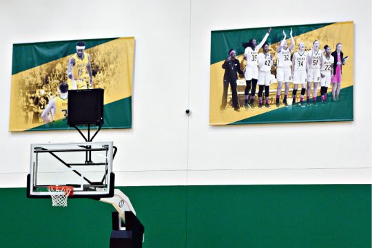 Siena men's basketball will play its December home games at Alumni Recreation Center. (Erica Miller)