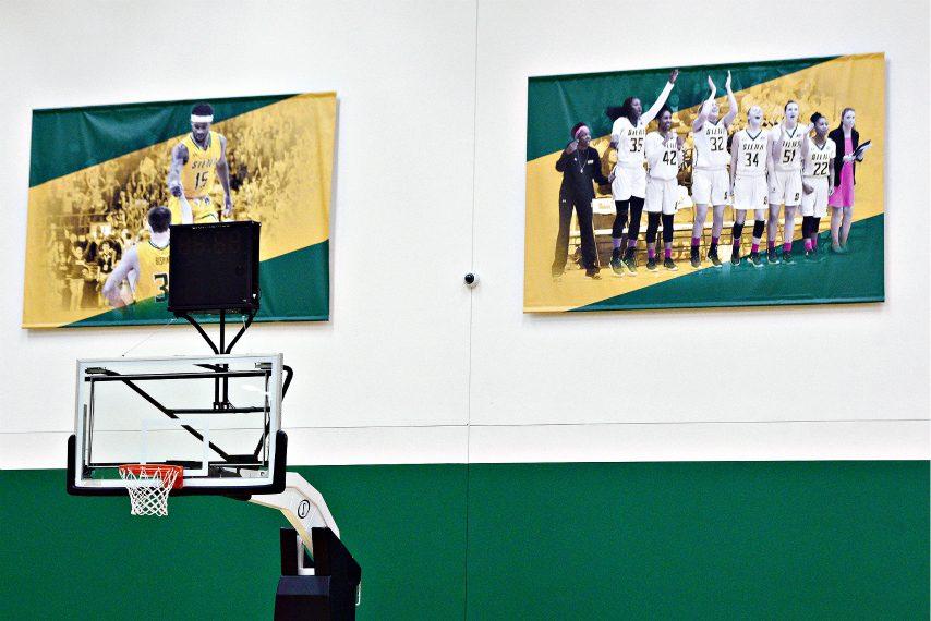 Siena men's basketball will play its December home games at Alumni Recreation Center. (Erica Miller)