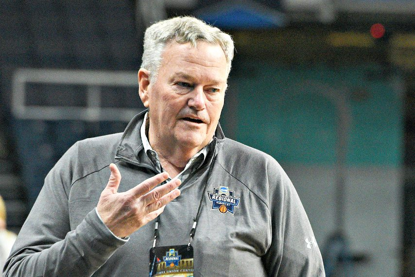 MAAC commissioner Rich Ensor is shown at Times Union Center. (Gazette file photo)