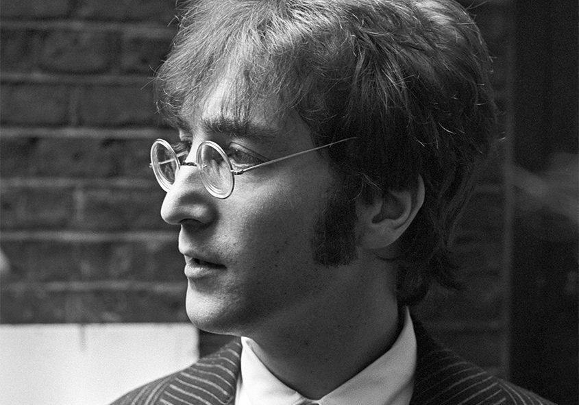 John Lennon of the Beatles at EMI Studios in London on June 24, 1967. (Tribune News Service)