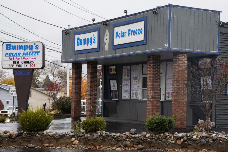 PETER R. BARBER/STAFF PHOTOGRAPHEBumpy's Polar Freeze at 2013 State St. in Schenectady, pictured Wednesday, will reopen under a new name and new ownership next spring.
