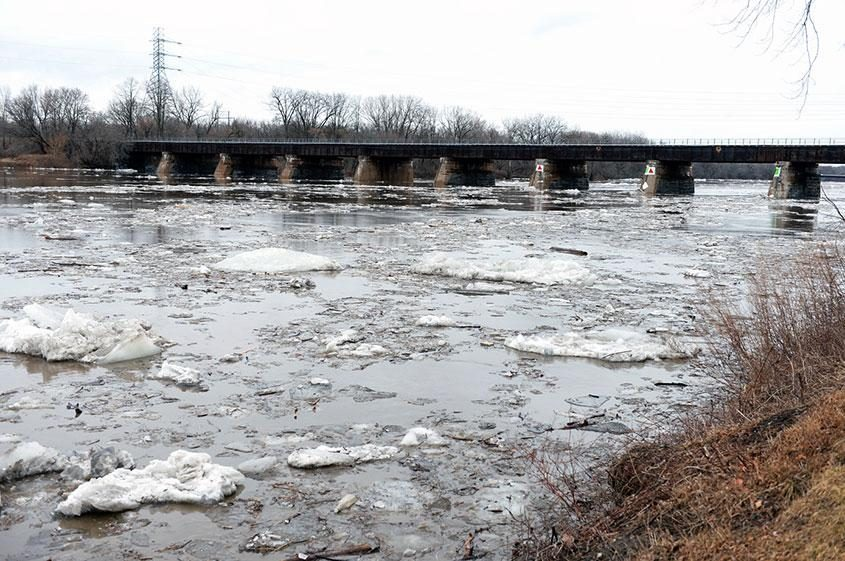 The Mohawk River seen at Schenectady's Riverside Park in 2016.