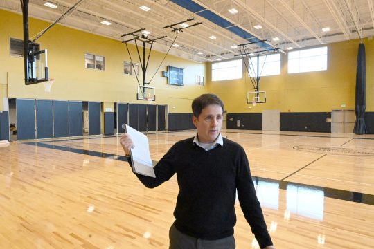 Shane Bargy, executive director at the Boys and Girls Clubs of Schenectady, seen last November, says they are determined to stay open at the facility to provide a safe, nurturing space. (Gazette file photo)