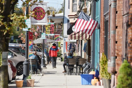 Front Street in downtown Ballston Spa is seen on Oct. 14.