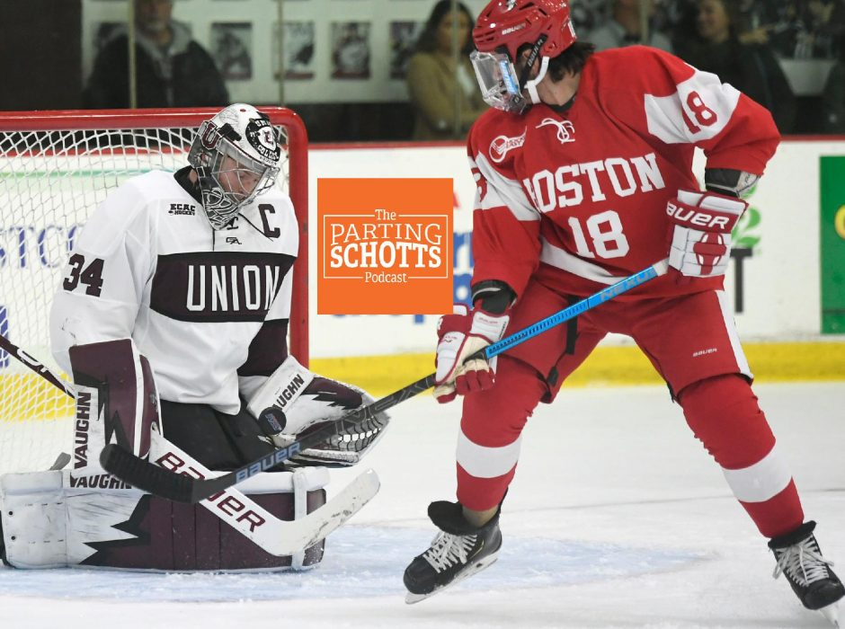 Peter R. Barber/Staff PhotographerUnion hockey of ECAC Hockey won't be playing this season because the coronavirus pandemic, but Boston University and Hockey East will have a season.