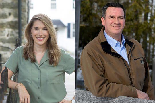 Michelle Hinchey and Richard Amedure