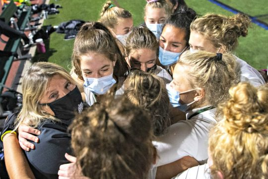 Shenendehowa field hockey won Friday's league championship game. (Peter R. Barber)