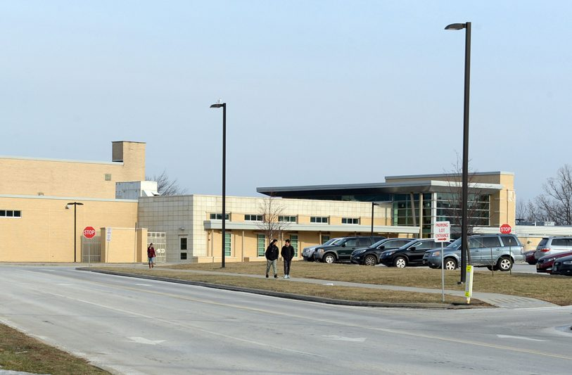 The exterior of Niskayuna High School is seen in a file photo.