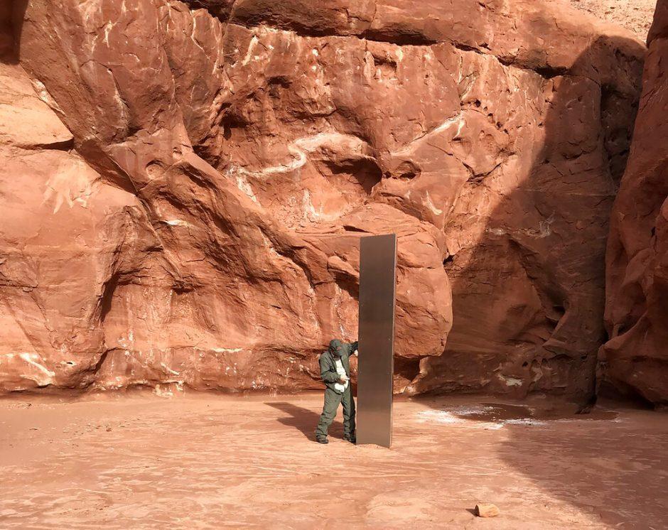 The metal monolith