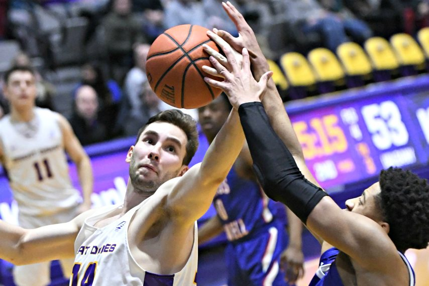 UAlbany's basketball teams both practiced Wednesday. (Gazette file photo)