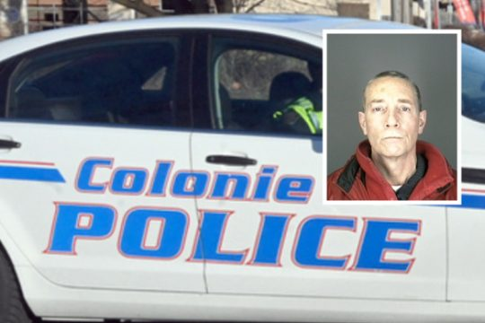 Photo providedRobert White was charged by Colonie police with burglary and larceny, allegedly committed while he was out of prison for a day.