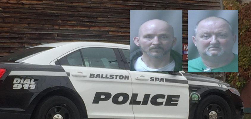 William H. Heeney, left, and Martin P. Heeney, right - Credit: Ballston Spa Police Department (insets) and file (background)