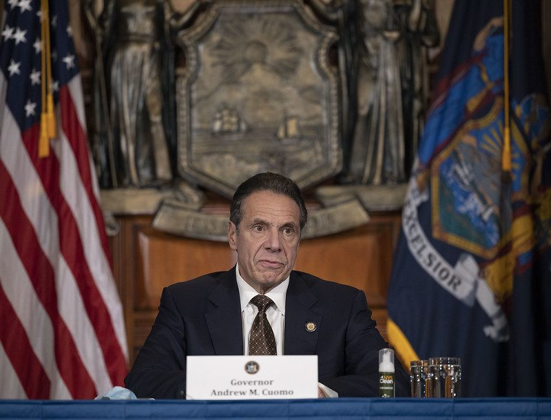 Gov. Andrew Cuomo Thursday. Credit: Governor's Office