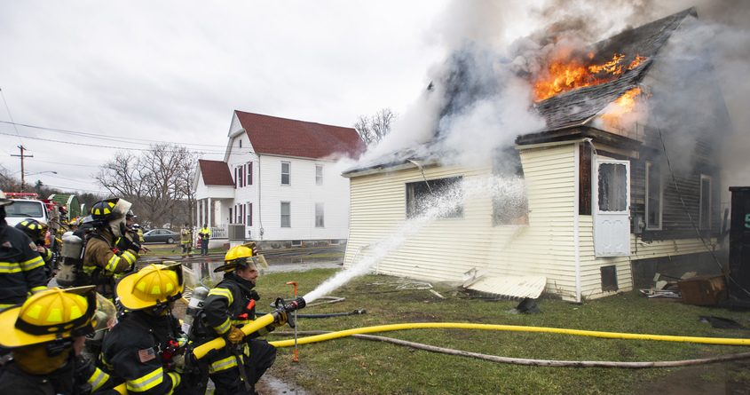 Fort Hunter firefighters  Tuesday