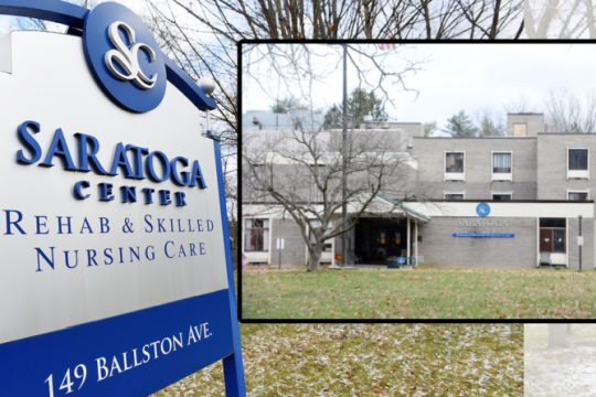 Saratoga Center Rehab and Skilled Nursing Care, formally Maplewood Manor, in Ballston Spa Thursday