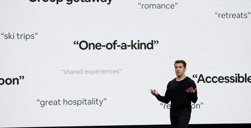 Airbnb co-founder and CEO Brian Chesky in February 2018