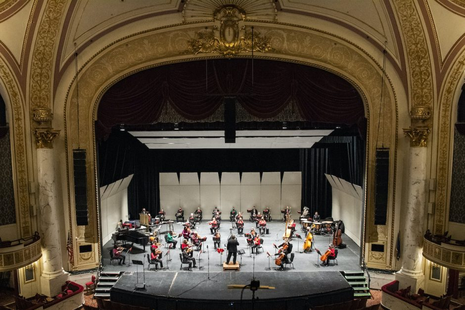 "The Schenectady Symphony Orchestra's ""Poinsettia Pops"" concert, recorded at Proctors, is available via the theater's website through Dec. 25."