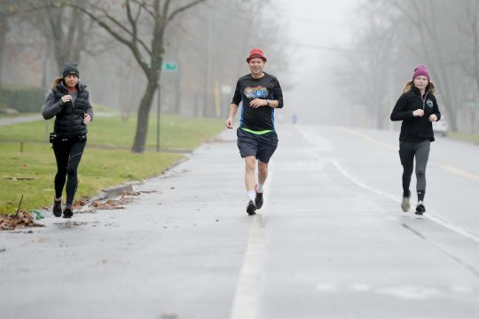 Runners went virtual for this year's Christopher Dailey Foundation Turkey Trot.