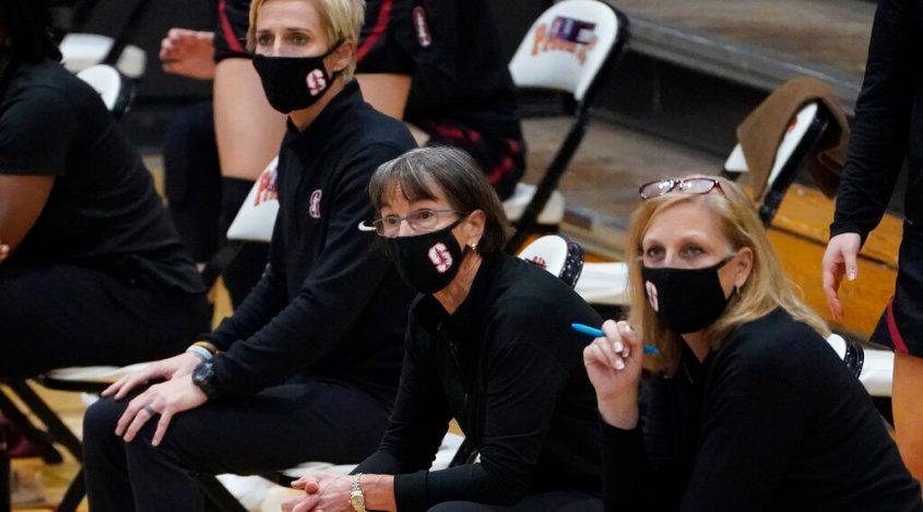 Stanford head coach Tara VanDerveer Tuesday