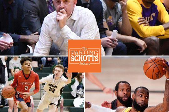 """UAlbany men's basketball, high school state winter sports and the NBA are the topics on """"The Parting Schotts Podcast."""""""