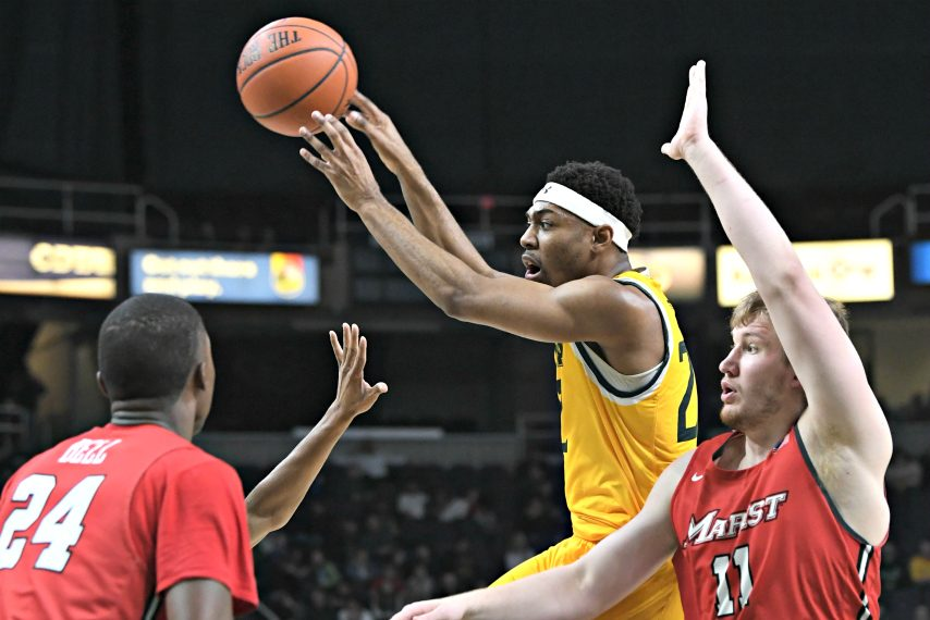 Siena starts its 2020-21 season next Tuesday at Drexel. (Gazette file photo)