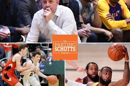 """The start of the UAlbany men's basketball season, the cancellation of the state winter high school sports championships and the NBA beginning are the topics on the final """"The Parting Schotts Podcast"""" before Christmas."""