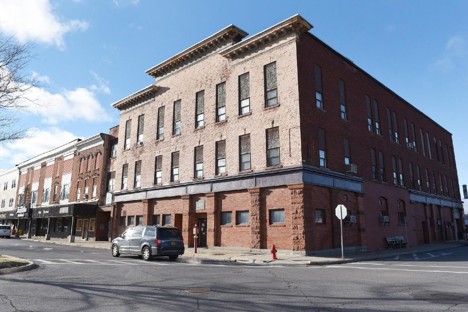 The former YWCA at 33 Bleecker St. in Gloversville was used as a Code Blue shelter last winter.