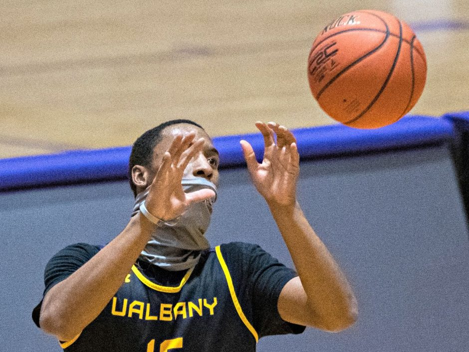 CJ Kelly is shown during a recent practice. (Gazette file photo)