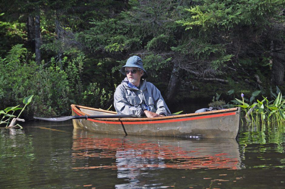 Adirondack boat builder Peter Hornbeck.