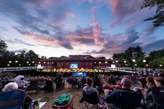 Movie Night with the Philadelphia Orchestra at Saratoga Performing Arts Center.