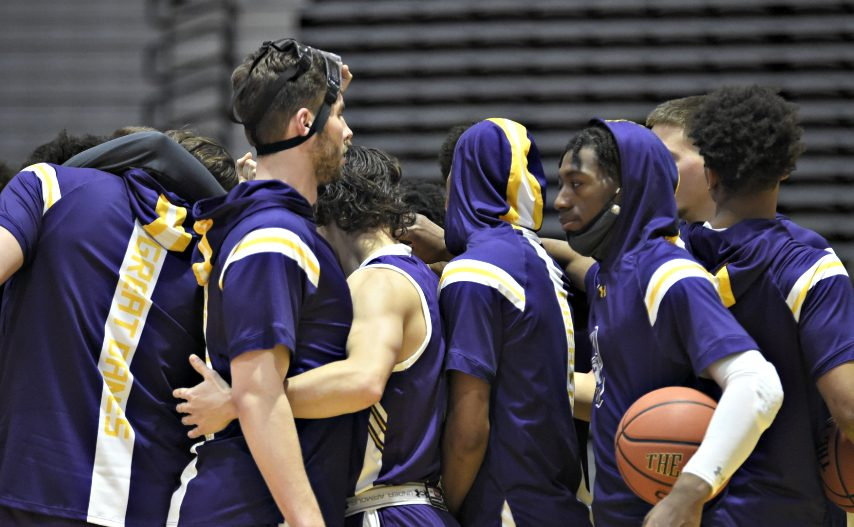 UAlbany men's basketball plays this weekend at Vermont. (Kathleen Helman/UAlbany Athletics)