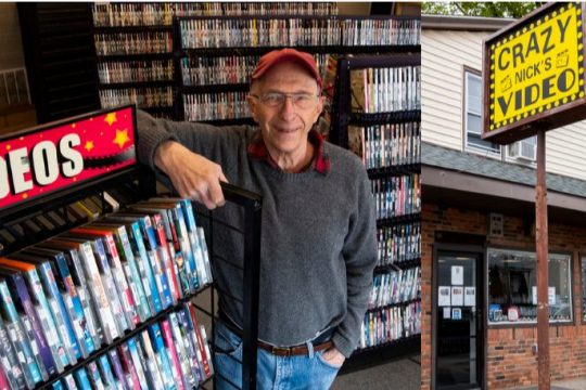 After a bout with COVID-19, Paul Neubauer will close his video store, Crazy Nick's Video.